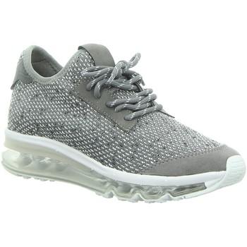 Schuhe Damen Sneaker Low La Strada Schnuerschuhe 1912612 beige grau