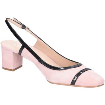 Schuhe Damen Pumps Brenda Zaro Rebecca Todo Suede Nude T3372 REBECCA rosa
