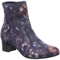 Schuhe Damen Boots Hassia Stiefeletten Florenz 8-304983-6600 grau