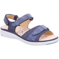 Schuhe Damen Sandalen / Sandaletten Ganter Sandaletten GINA 9-200172-3500 blau