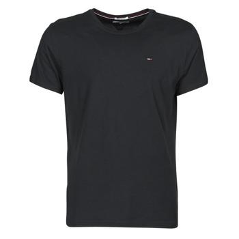 Kleidung Herren T-Shirts Tommy Jeans TJM ORIGINAL JERSEY TEE Schwarz