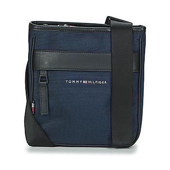 Taschen Herren Geldtasche / Handtasche Tommy Hilfiger ELEVATED NYLON MINI CROSSOVER Marine