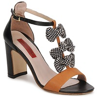 Schuhe Damen Sandalen / Sandaletten MySuelly NOE Schwarz / Braun