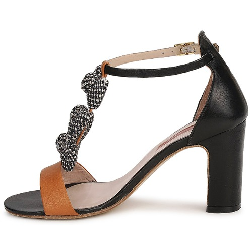 MySuelly NOE / Schwarz / Braun  Schuhe Sandalen / NOE Sandaletten Damen 206,50 f84059