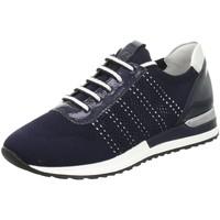 Schuhe Damen Sneaker Low Remonte Dorndorf Schnuerschuhe Da.Schnürer R2507-14 blau