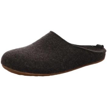 Schuhe Damen Hausschuhe Haflinger Everest Fundus 481024 77 grau