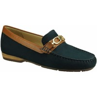 Schuhe Damen Slipper Wirth Slipper 242394 81 blau