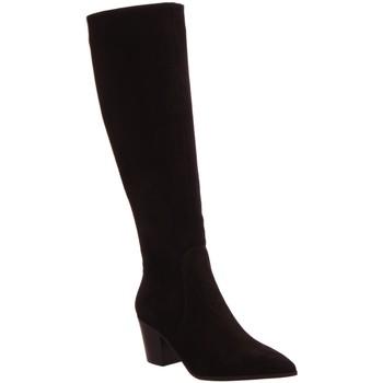 Schuhe Damen Kniestiefel Lamica Stiefel 6445 schwarz