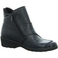 Schuhe Damen Boots Longo Stiefeletten Stiefelette WF 3070694-1 schwarz