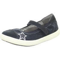 Schuhe Mädchen Derby-Schuhe & Richelieu Vado Spangenschuhe VADOMAEDCHENBALLERINA 92310SOPHIE/116 116 blau