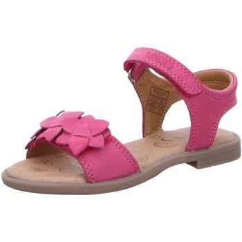 Schuhe Mädchen Sandalen / Sandaletten Vado Schuhe VADOMAEDCHENSANDALELEDE 28205ANNA/307 307 pink