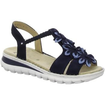 Schuhe Damen Sandalen / Sandaletten Ara Sandaletten 12-47215-75 blau