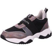 Schuhe Damen Sneaker Low Fusion FS202004 schwarz