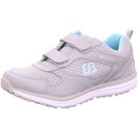 Schuhe Mädchen Sneaker Low Brütting Klettschuhe 121034 grau