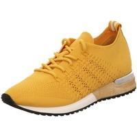 Schuhe Damen Sneaker Low La Strada Schnuerschuhe 1802649-4582 gelb