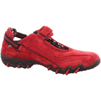 Schuhe Damen Sneaker Low Allrounder by Mephisto Slipper Niro NIRO 16/16 RED ELEMENT rot