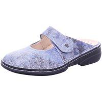 Schuhe Damen Pantoletten / Clogs Finn Comfort Pantoletten Stanford 02552 672124 blau