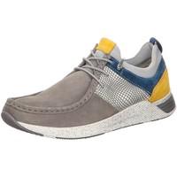 Schuhe Herren Sneaker Low Sioux Schnuerschuhe 37216 grau