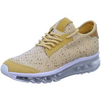 Schuhe Damen Sneaker Low La Strada Schnuerschuhe 1912612-4582 gelb