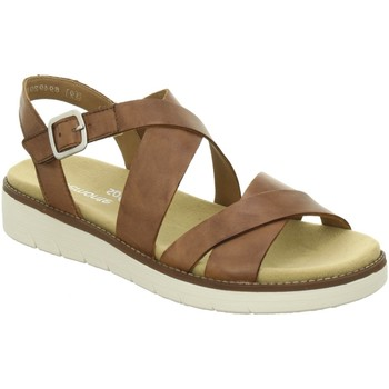 Schuhe Damen Sandalen / Sandaletten Remonte Dorndorf Sandaletten D2060-24 braun