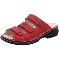 Schuhe Damen Pantoffel Finn Comfort Pantoletten Menorca red 82564666147 rot