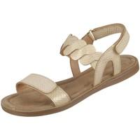 Schuhe Mädchen Sandalen / Sandaletten Bisgaard Schuhe Cille 71919.120-2202 gold 71919.120-2202 beige