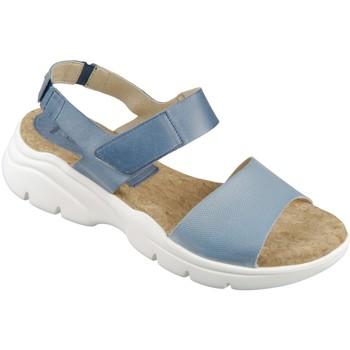 Schuhe Damen Sandalen / Sandaletten Camel Active Sandaletten Vision 913.72-03 sky indigo Waxy Velvet 913.72-03 blau