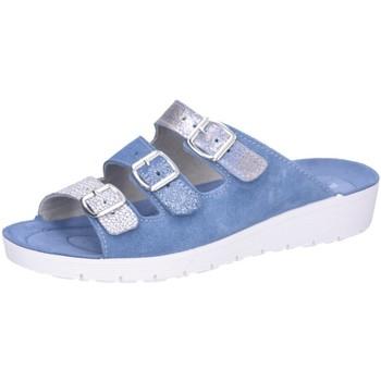 Schuhe Damen Pantoffel Rohde Pantoletten 1415/55 55 blau