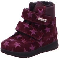 Schuhe Mädchen Boots Däumling Klettstiefel 090333-20 Helos M rot