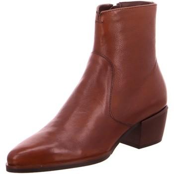 Schuhe Damen Low Boots Maripé Stiefeletten -00 28580-5830 braun