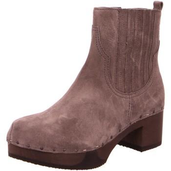 Schuhe Damen Low Boots Softclox Stiefeletten 3494 Jamina grau