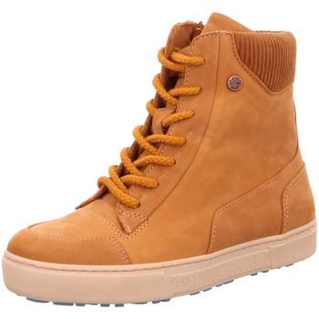 Schuhe Damen Boots Chaaya Stiefeletten CHA-19038 Buffy Wash beige