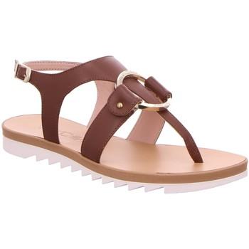 Schuhe Damen Sandalen / Sandaletten Marc Cain Sandaletten NB SG.26 L39 638 braun