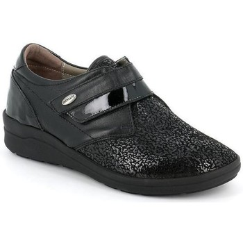 Schuhe Damen Richelieu Grunland DSG-SC4965 NERO