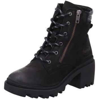 Schuhe Damen Low Boots Dockers by Gerli Stiefeletten 45XZ203-100100 45XZ203-100100 schwarz