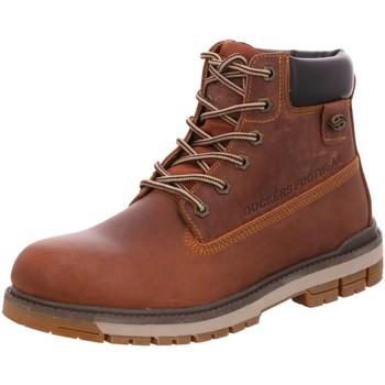 Schuhe Herren Boots Dockers by Gerli 43LU001400320 braun