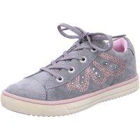 Schuhe Mädchen Sneaker Low Lurchi By Salamander Schnuerschuhe 3313656-75 Sibell M grau