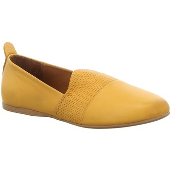 Schuhe Damen Slipper Macakitzbühel Slipper 2643 YELLOW gelb