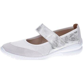Schuhe Damen Ballerinas Florett Slipper Lena 0341166 weiß