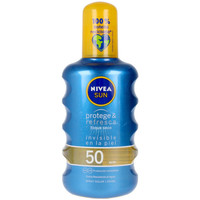 Beauty Sonnenschutz Nivea Sun Protege&refresca Spray Spf50  200 ml