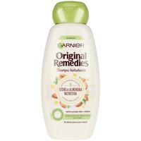 Beauty Shampoo Garnier Original Remedies Champú Leche Almendras  300 ml