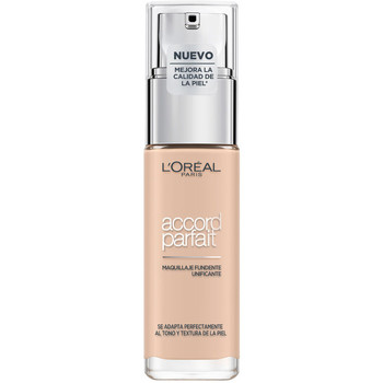 Beauty Damen Make-up & Foundation  L'oréal Accord Parfait Foundation 1r-ivoire  30 ml