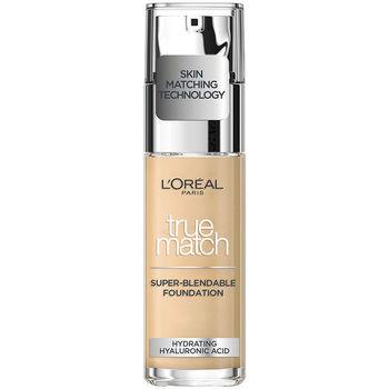 Beauty Damen Make-up & Foundation  L'oréal Accord Parfait Foundation 1,5n-linen  30 ml