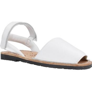 Schuhe Mädchen Sandalen / Sandaletten Ria 20090 Weiß