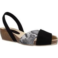Schuhe Damen Sandalen / Sandaletten Ria 33201 2 Schwarz