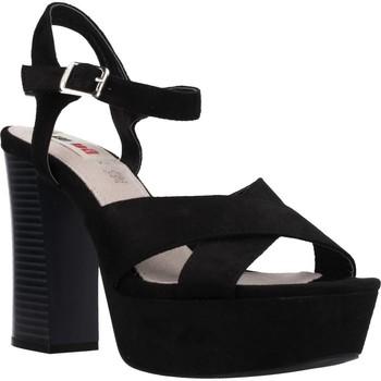 Schuhe Damen Sandalen / Sandaletten MTNG 58940M Schwarz