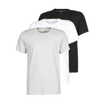 Kleidung Herren T-Shirts Calvin Klein Jeans CREW NECK 3PACK Grau / Schwarz / Weiss