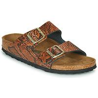 Schuhe Damen Pantoffel Birkenstock ARIZONA Braun