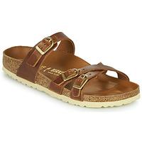 Schuhe Damen Pantoffel Birkenstock FRANCA Braun