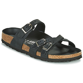Schuhe Damen Pantoffel Birkenstock FRANCA Schwarz
